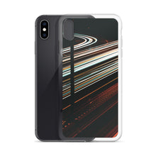 Load image into Gallery viewer, Custom design iPhone case. White and red light trails span across the 417 highway in Ottawa, Canada  Original long exposure photography artwork from ZNA Creative, iPhone cases perfect for any occasion.