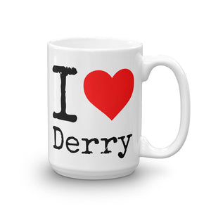I Heart Derry Ceramic Coffee Mug