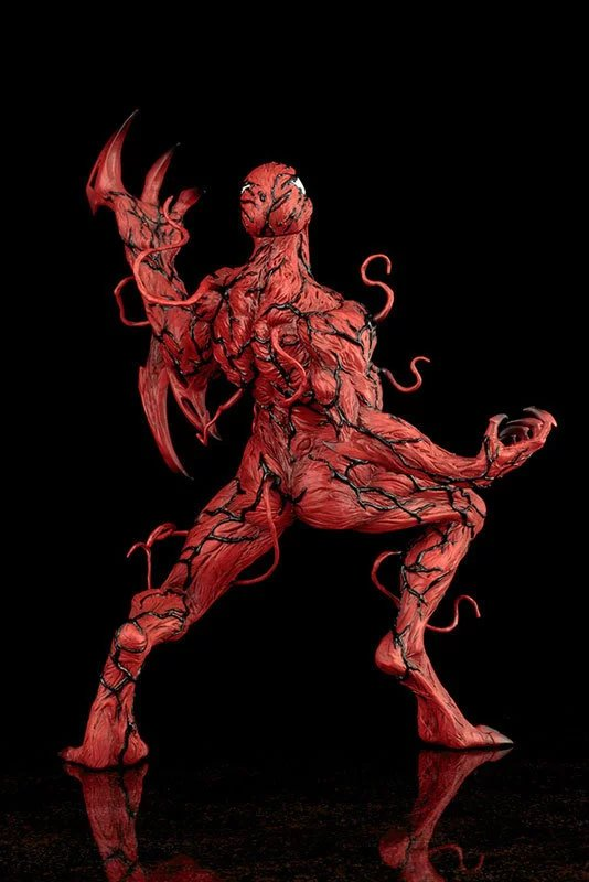 MARVEL Spiderman Action Figure Collectible, Carnage Edition