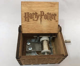 Harry Potter Carved, Wooden Music Box