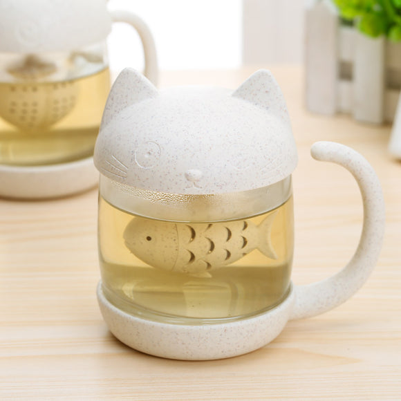 Cat and Monkey Tea Infuser
