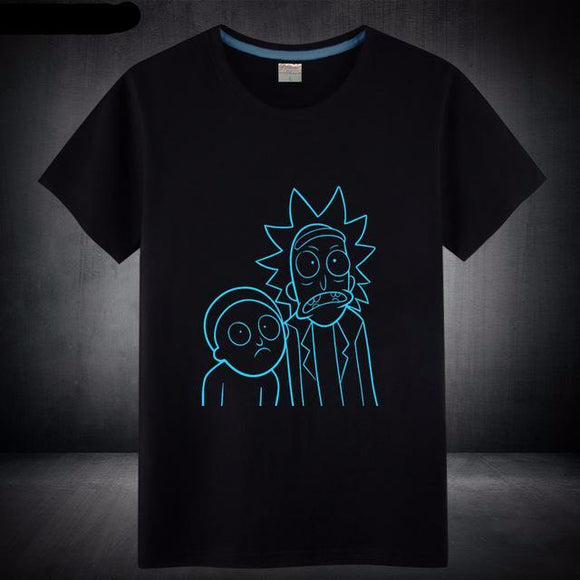 Glow in the Dark Rick and Morty, Five