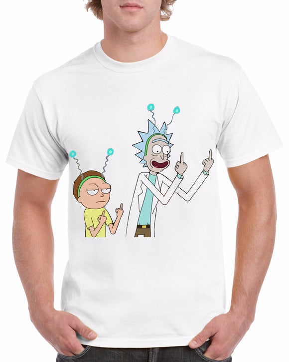 Rick and Morty with Aliengear