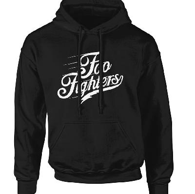 hooded sweater Foo Fighters