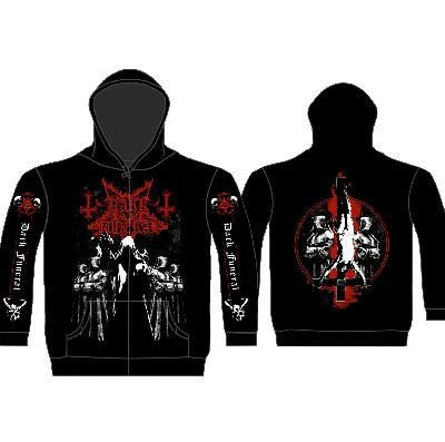hooded sweater Dark Funeral