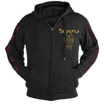 hooded sweater Soulfly