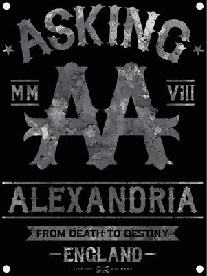 flag Asking Alexandria