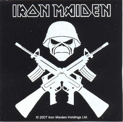 sticker Iron Maiden