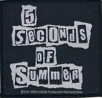 5 Seconds of Summer | Logo Woven Patch