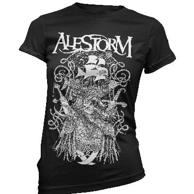 girl shirt Alestorm