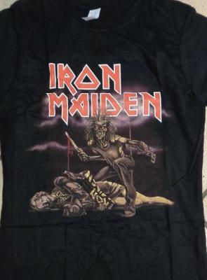 girl shirt Iron Maiden