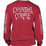 Cannibal Corpse | Pile Of Skulls Red LS