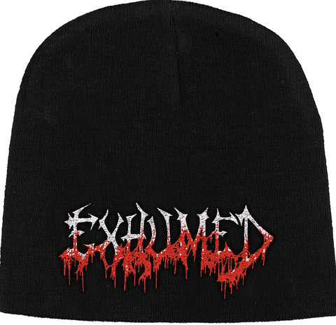 Exhumed | Beanie Stitched Blood Logo