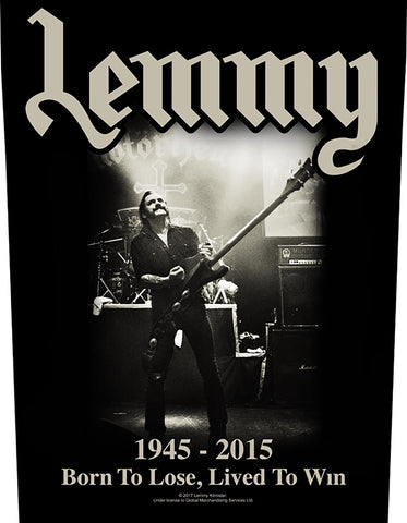 Motorhead | Lemmy Lived To Win BP