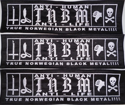 Anti Human Anti Life | Backstripe True Norwegian Black Metal