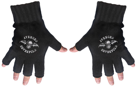 Avenged Sevenfold | Fingerless Gloves Logo & Death Bat