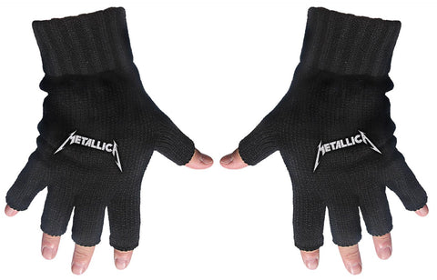 Metallica | Fingerless Gloves Logo