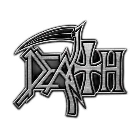 Death | Pin Badge Logo