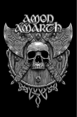 Amon Amarth | Skull And Axes Flag