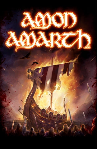 Amon Amarth | 1000 Burning Arrows Flag