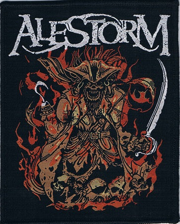 Alestorm | We Are Here Pirate Woven Patch