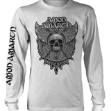 Amon Amarth | Grey Skull White LS