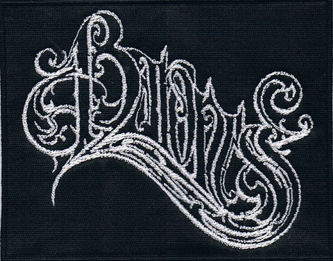 Baroness | Stitched White Logo