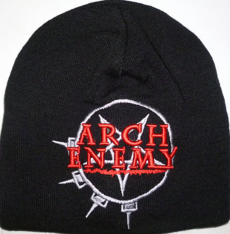Arch Enemy | Beanie Stitched Red Logo