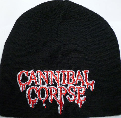 Cannibal Corpse | Beanie Stitched Red White Logo