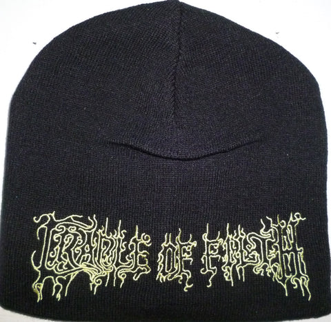 Cradle of Filth | Beanie Stitched Gold Logo
