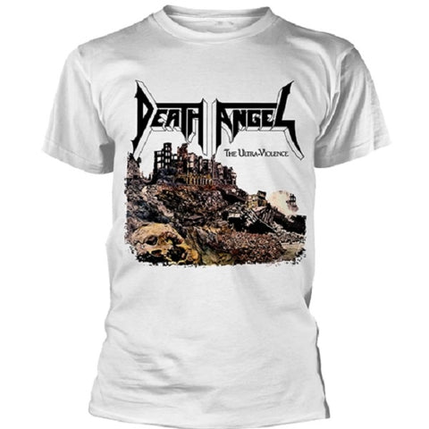 Death Angel | Ultra Violence White TS