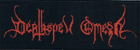 Deathspell Omega | Stitched Red Logo