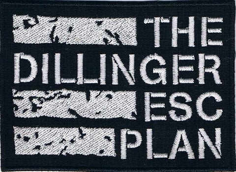 Dillinger Escape Plan The | Stitched White Logo