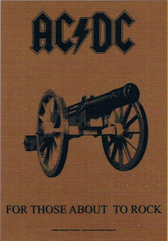 AC/DC | For Those About To Rock Flag