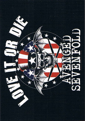 Avenged Sevenfold | Love It Or Die Flag