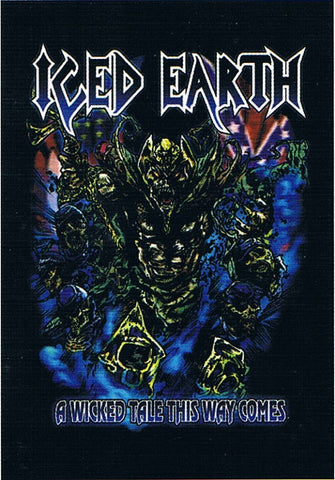 Iced Earth | A Wicked Tale This Way Flag