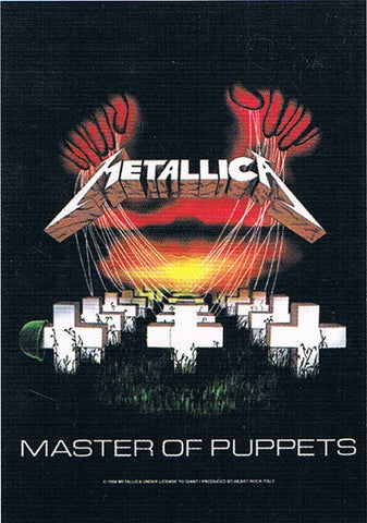 Metallica | Master Of Puppets Flag