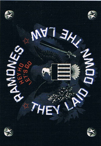 Ramones | Lay Down The Law Flag