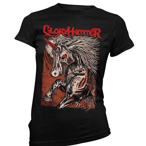 Gloryhammer | Red Logo Unicorn GS
