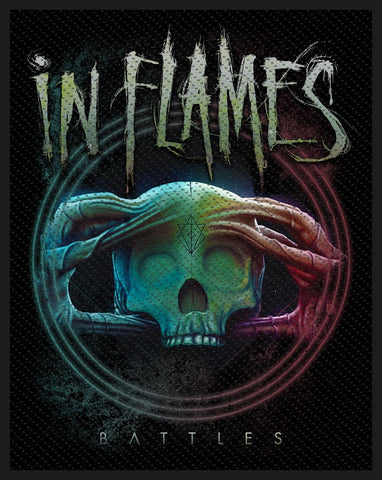In Flames | Battles Woven Patch