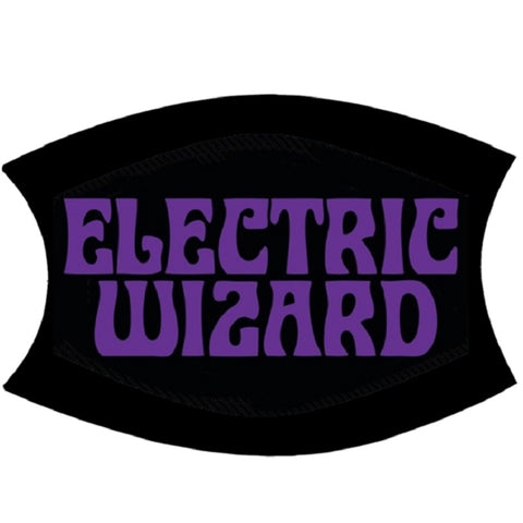 Electric Wizard | Face Mask Purple Logo
