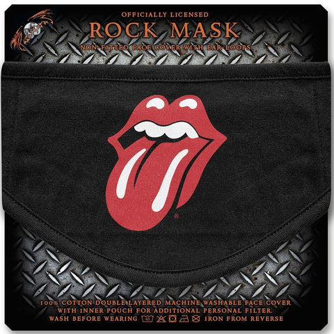 Rolling Stones | Face Mask Tongue