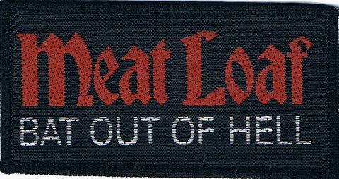 Meat Loaf | Bat Out Of Hell Woven Logo