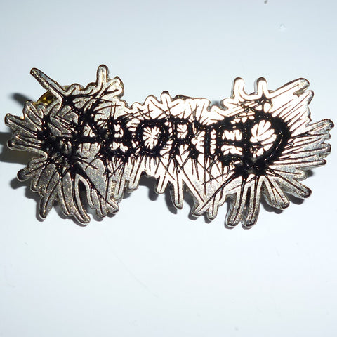 Aborted | Pin Badge Logo