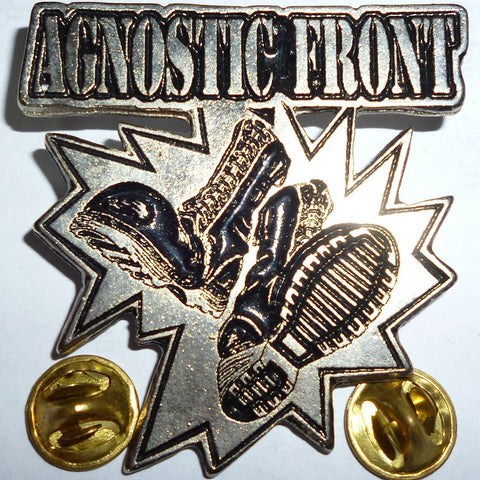 Agnostic Front | Pin Badge Boots