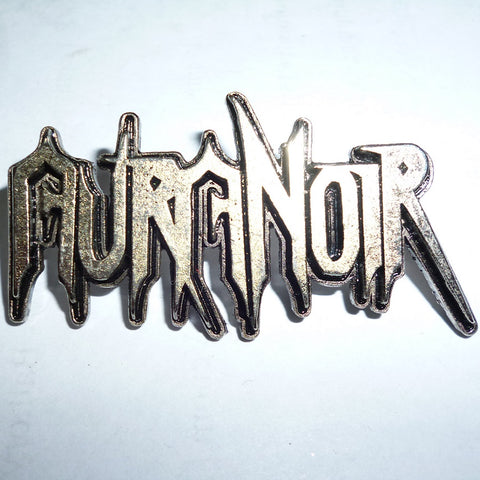 Aura Noir | Pin Badge 3D Logo
