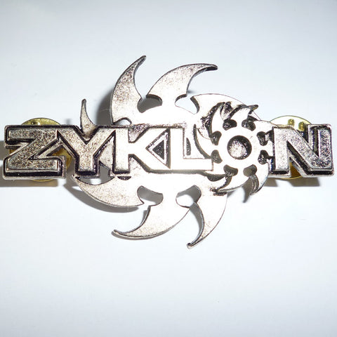 Zyklon | Pin Badge Logo
