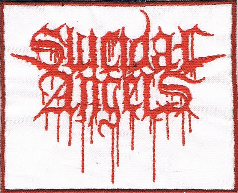 Suicidal Angels | Stitched White Patch