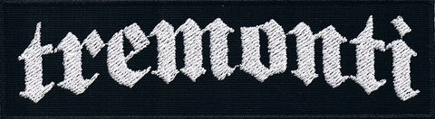 Tremonti | Stitched White Logo