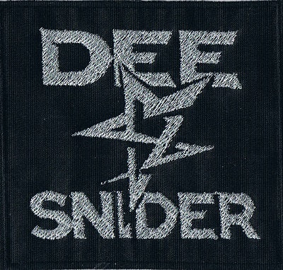 Twisted Sister | Stitched Dee Snider Square Logo